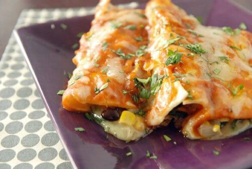 The Best Vegetable Enchiladas