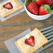 Strawberry Nutella Poptarts!