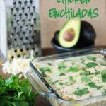 Spicy Avocado Chicken Enchiladas & Giveaway!