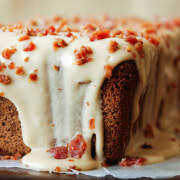 Espresso Poundcake with Maple Bacon Icing 1 sm