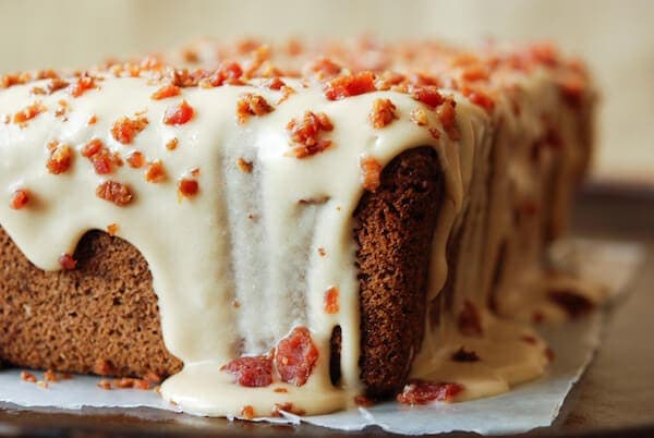 Espresso Poundcake with Maple Bacon Icing – The Novice Chef