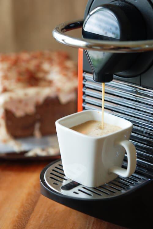 The Novice Chef » Espresso Poundcake with Maple Bacon Icing