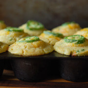 Jalapeno Sweet Corn Muffins | The Novice Chef Blog