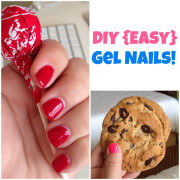 DIY {Easy} Gel Nails from www.thenovicechefblog.com