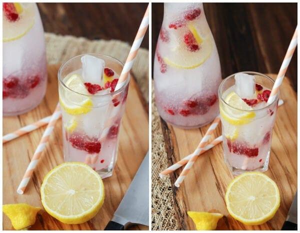 Skinny DragonBerry Rum Twist from www.thenovicechefblog.com