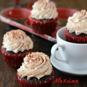 Mexican Hot Chocolate Cupcakes Logo