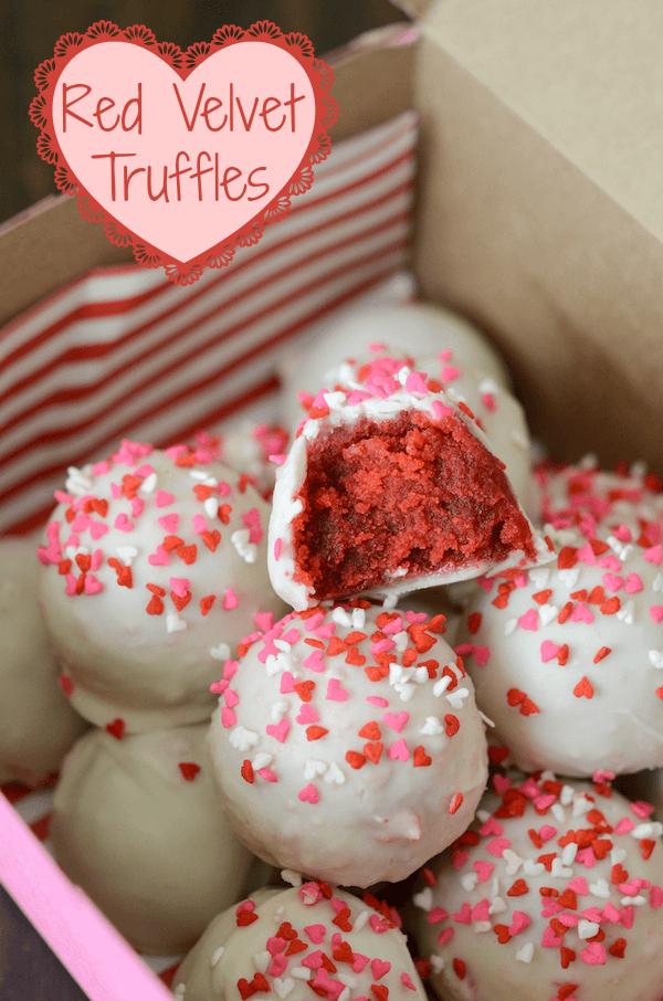 Red Velvet Truffles!