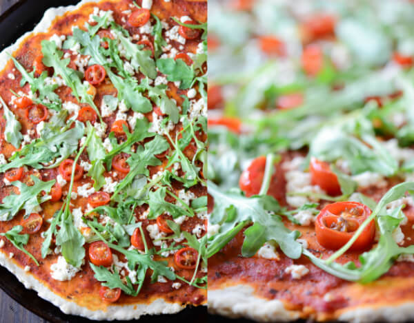 arugula pizza arugula tomato pizza spaghetti with tapenade tomatoes ...