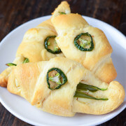 Jalapeno Cream Cheese Crescent Rolls (recipe via thenovicechefblog.com)