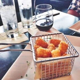 Truffled Tator Tots from Anise Gastropub in Tampa