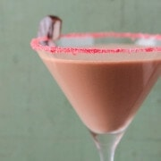 Peppermint Patty Martini (Recipe from www.thenovicechefblog.com)
