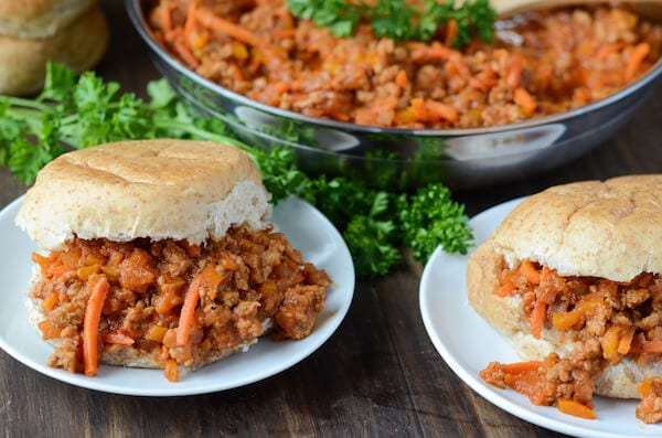 Lightened Up Turkey Sloppy Joes - recipe via www.thenovicechefblog.com
