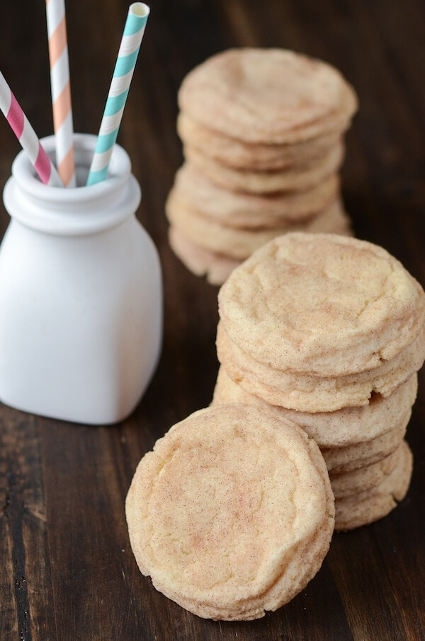 The Best Classic Snickerdoodle Cookies recipe via www.thenovicechefblog.com
