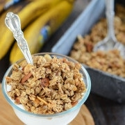 Banana Nut Granola recipe via www.thenovicechefblog.com