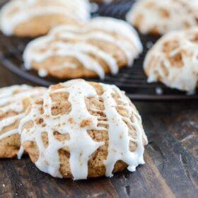 Apple Pie Cookies via www.thenovicechefblog.com