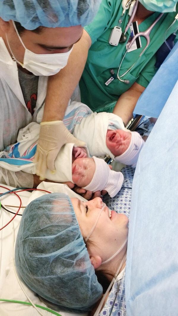 Lyla & Ellie Birth