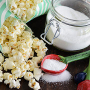 Sweet & Salty Kettle Corn recipe via www.thenovicechefblog.com