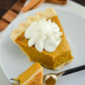 Buttermilk Pumpkin Pie -- recipe from www.thenovicechefblog.com