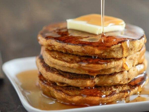 Easy pumpkin pancakes the novice chef - Superchef cook mix ...