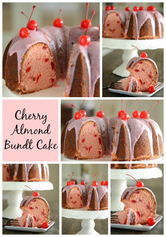 Cherry Almond Bundt Cake!