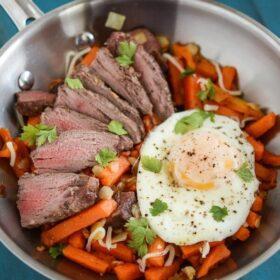 Steak and Sweet Potato Hash 2 sm
