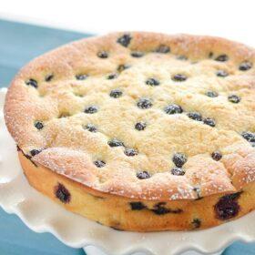 Blueberry and Lemon Sour Cream Cake!