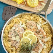 Lemon Thyme Chicken! Perfect quick weeknight dinner!