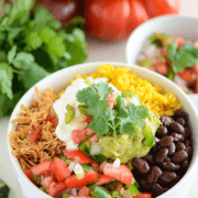 Salsa Chicken Bowl! Great weeknight dinner!