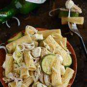 Chicken, Fennel & Zucchini Pasta Salad!