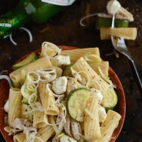 Chicken, Fennel & Zucchini Pasta Salad!