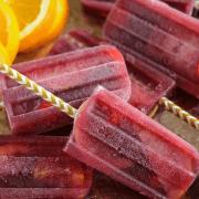 Sangria Popsicles!