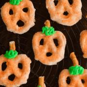 Pumpkin Pretzels!
