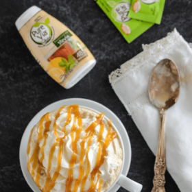 Skinny Salted Caramel Latte!