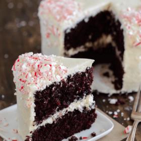 Chocolate Peppermint Dream Cake