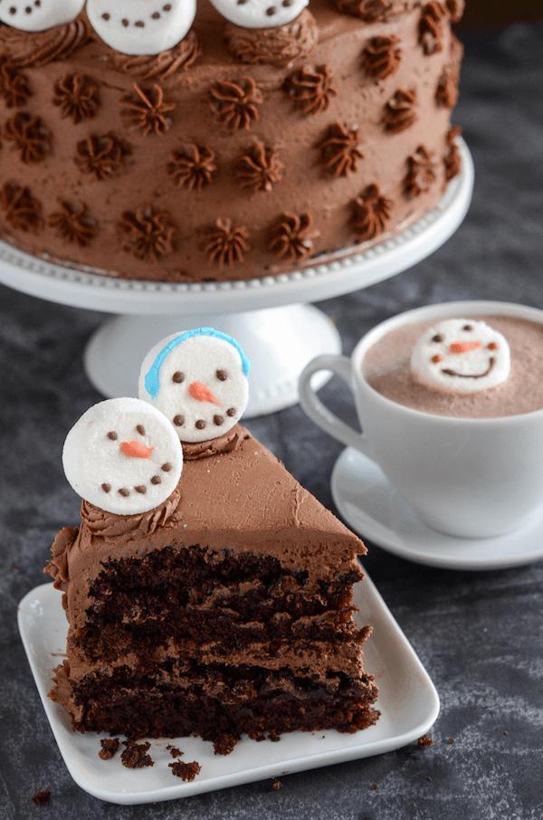 Hot Chocolate Dream Cake!