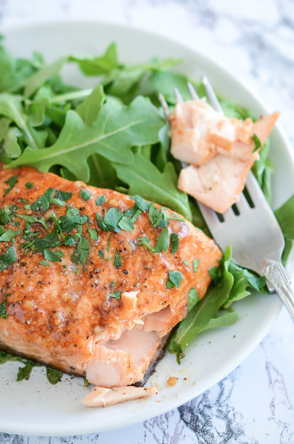 Balsamic Roasted Salmon