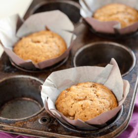 Banana Brown Sugar Muffins!