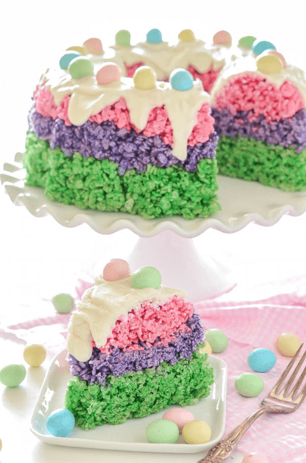 Rice Krispie Cakes Ideas
