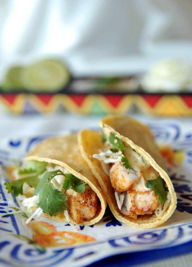 The Best Blackened Fish Tacos