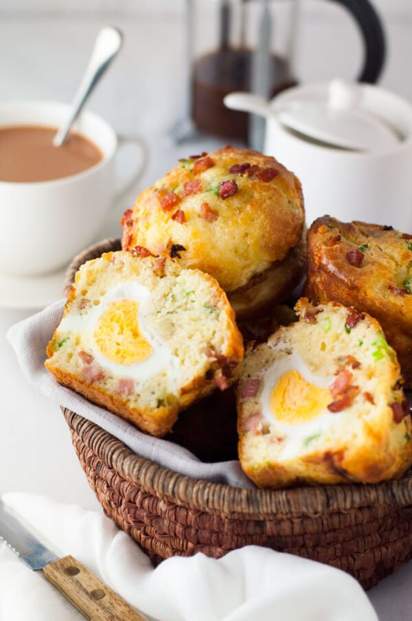 Bacon and Egg Breakfast Muffins!