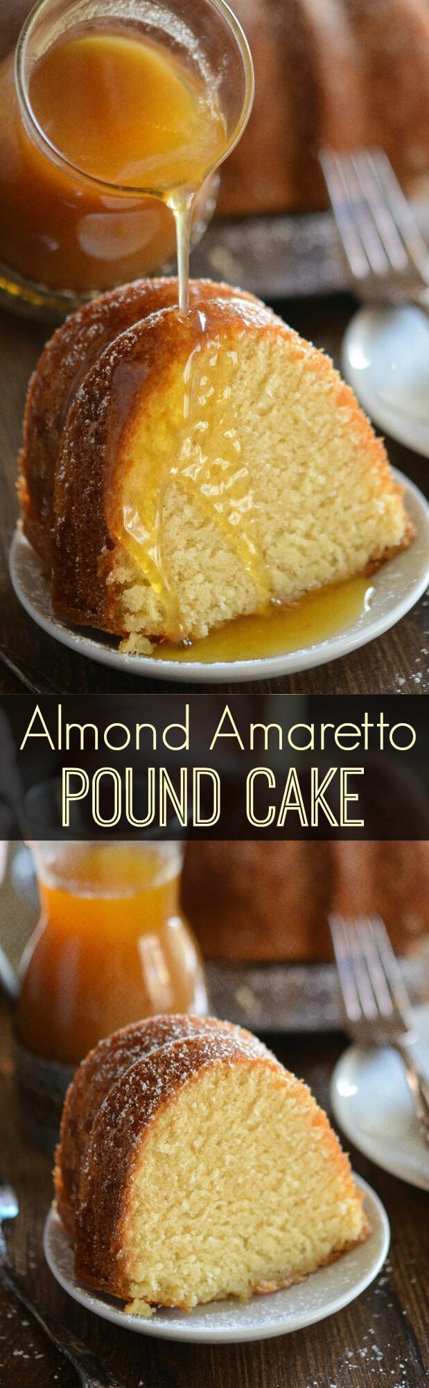 Amaretto Pound Cake Recipe — Dishmaps