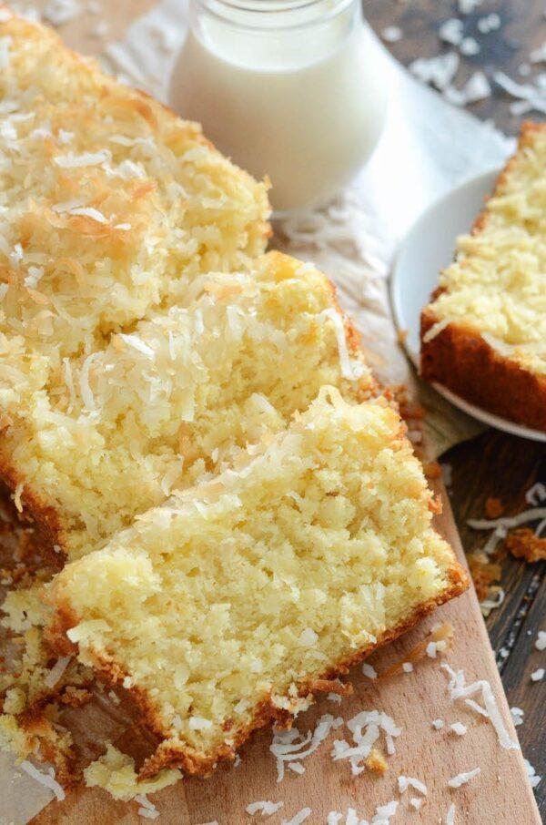 Pineapple Coconut Quick Bread | The Novice Chef