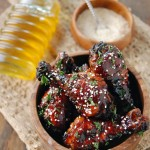 Sweet & Sticky Baked Chicken Drumsticks