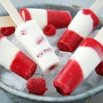 Raspberry Cheesecake Popsicles
